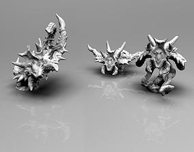 Demonic Screamers bundle 3D print model