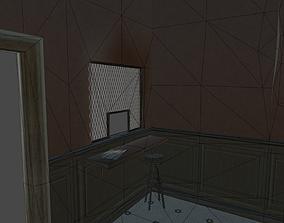 police departament window 3D model