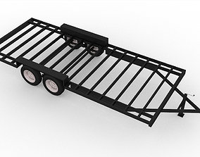 20 Foot Trailer by Rainbow Trailers For Tiny Homes 3D