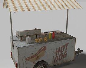 vehicle Food Cart 3D