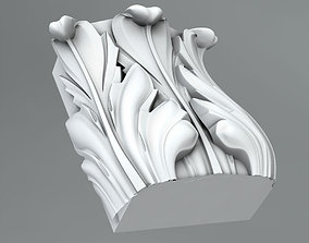 3D model Pilaster Capitals wall