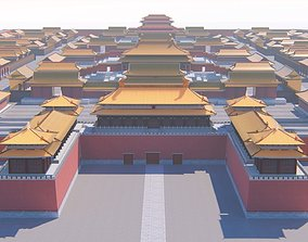 3D model Forbiden City