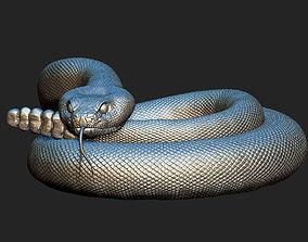 3D print model rattlesnake