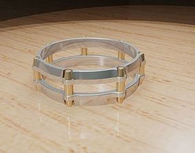 double ring 3D print model