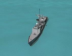 3D FFG-61 USS Ingraham Perry Class Frigate
