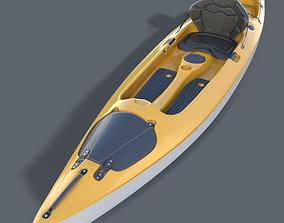 3D model Kayak Realistic