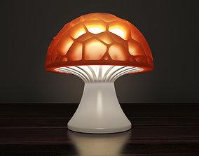 3D printable model Generative design Voronoi mushroom 3