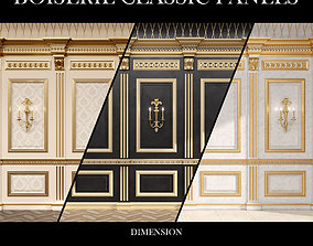 3D Boiserie classic panels and Decorative Crafts Wood 2