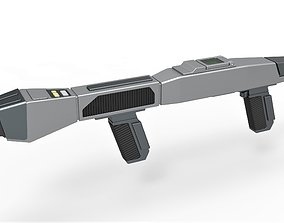 Starfleet Type 3 Phaser Rifle from Star 3D print model 3