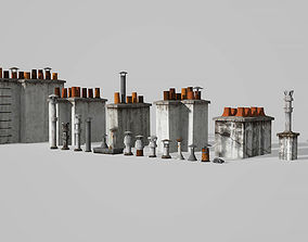 3D model Chimneys and vents