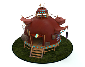 3D asset animated House World of Warcraft