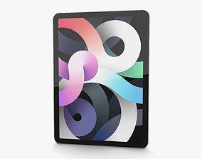 3D Apple iPad Air 2020 Cellular Silver