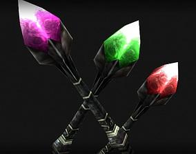 Wizard s rod 3D model