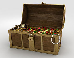 coins 3D Treasure Chest