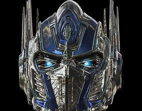 3D print model Optimus Prime Helmet