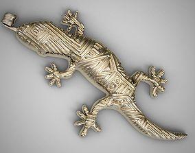 3D print model Lizard Necklace