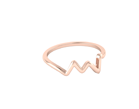 Simple ring model pulse wave
