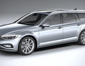 3D Volkswagen Passat Variant 2020