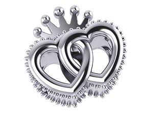3D print model Heart charm