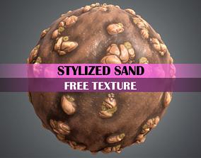 Stylized Sand Texture 3D asset