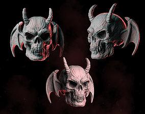 3D printable model Demon Skull Wings