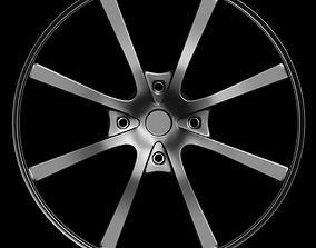 Car rim 8 3D asset
