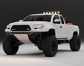 3D Toyota Tacoma 2018 Baja edition