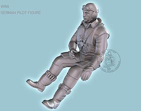 3D print model Pilot Me-109