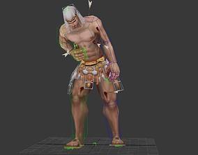 3D asset Injured slave
