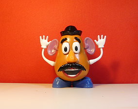 Mr Potato Head 3D model