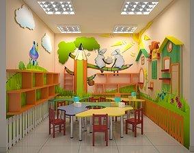 Children Playroom 3D model