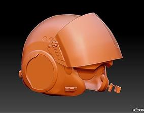 cosplay TFA X-Wing Pilot Helmet - 3D Print Ready