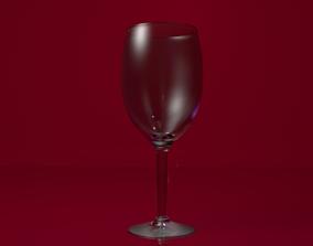 Wine Glass luxury 3D
