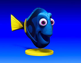 DORY 3D COMIC FISH