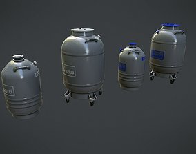 3D asset Chemical Container 7