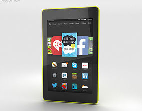 Amazon Fire HD 6 Citron 3D