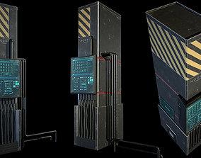 3D asset Sci-fi Station PBR