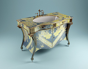 3D model Washstand ArtDeco
