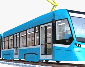 Tram Stadler 3D