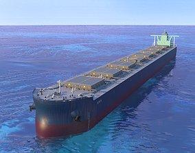 Bulk carrier ship 3D