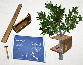 3D asset Treehouse