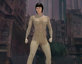 The Major Ghost in the shell Print v1
