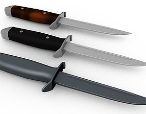 Military knife 20 century 3D printable model