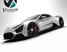 Zenvo ST1 Super Car 3D