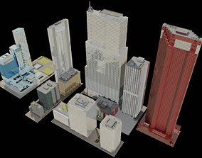 3D asset CityBlock01