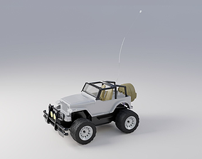 Jeep Car Toy Remote Control 3D model