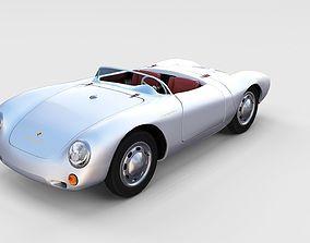 3D model Porsche 550 Spyder rev