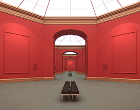 Art Gallery Red 3D model