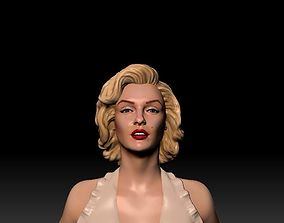 Marilyn Monroe 3D Model ready for 3d print human