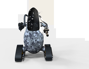 3D model The Post-apocalyptic Sentry